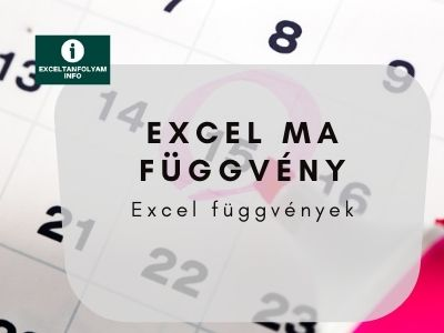 Excel MA függvény